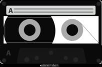 Tape Cassette Recorder Clip Art, Vector Tape Cassette Recorder.