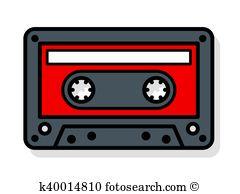 Mixtape Clip Art Vector Graphics. 73 mixtape EPS clipart vector.