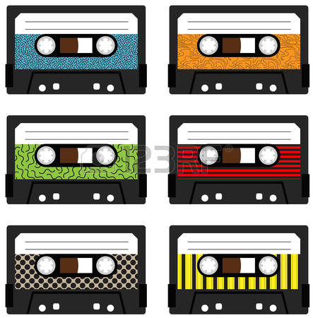Music Cassettes Stock Vector Illustration And Royalty Free Music.