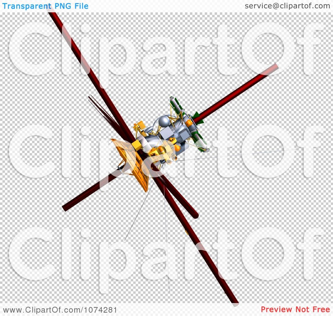 Clipart 3d Cassini Satellite 3.