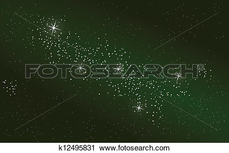Clipart of Cassiopeia k12495831.