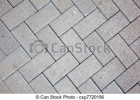 Stock Image of pavement pattern made with cast concrete blocks in.