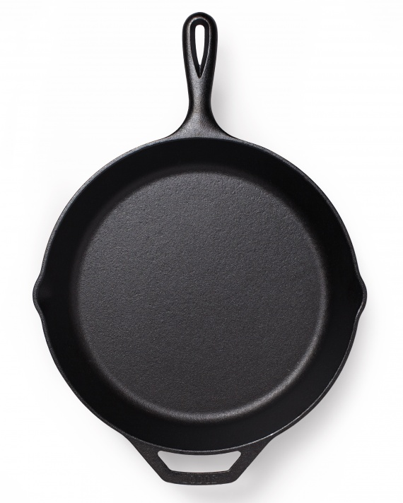 Cast iron skillet clipart.