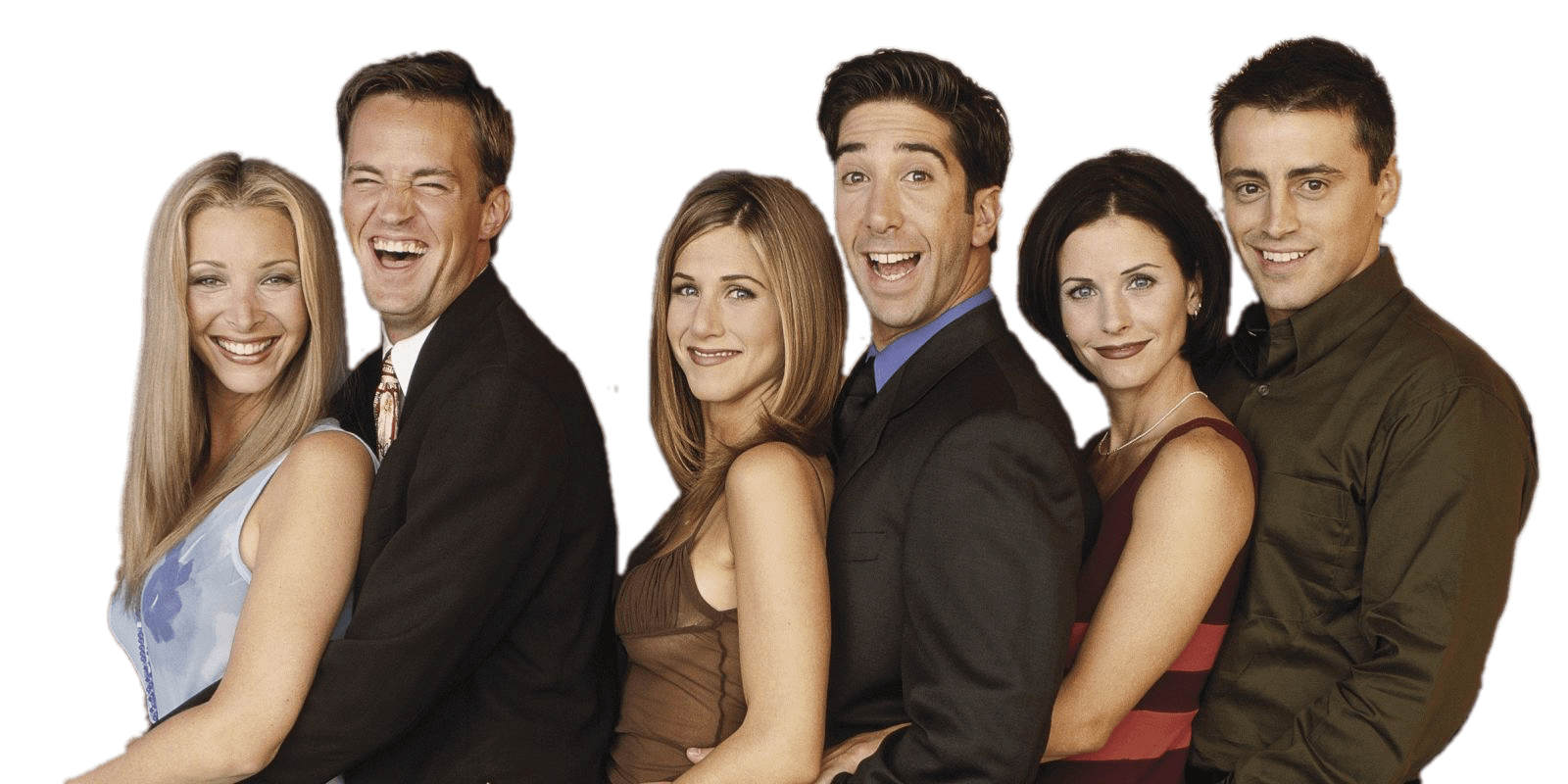 Friends Cast transparent PNG.