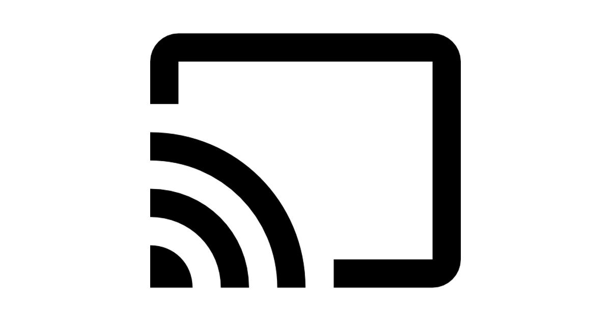 Google Cast logo.