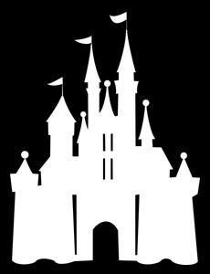 12 cinderella castle silhouette, cinderella castle, Clipart Images.