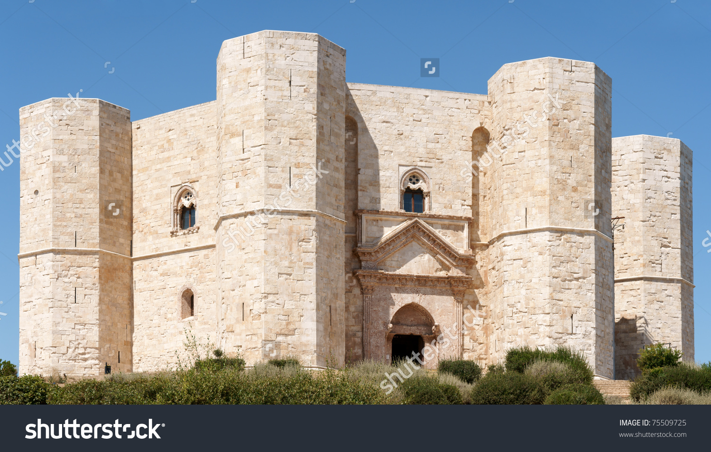 Castel Del Monte Castle Mount Situated Stock Photo 75509725.
