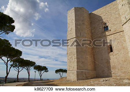 Stock Photograph of castel del monte k8627709.