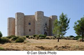 Stock Photo of Castel del Monte, Apulia.