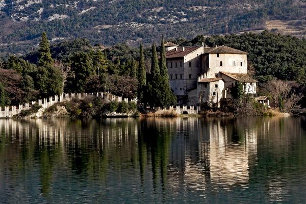 Lago di Toblino, Italy.
