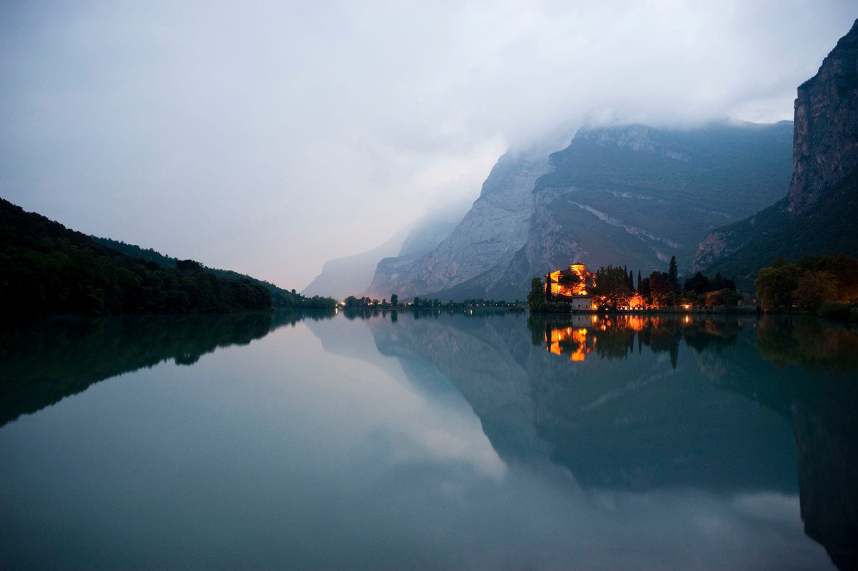 Castel Toblino : Trentino.