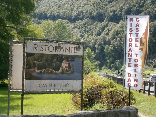 Ristorante Castel Toblino, Calavino.