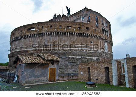 Castel Sant'angelo Stock Photos, Royalty.
