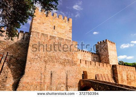 Castelo De Sao Jorge Stock Photos, Royalty.