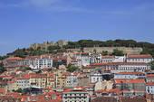 Stock Photo of Portugal, Lisbon, Castelo De Sao Jorge pcl23913.