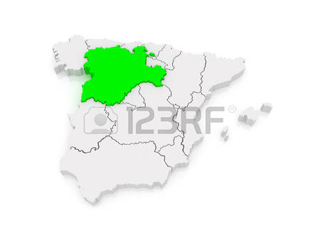 80 Castile Leon Map Stock Vector Illustration And Royalty Free.