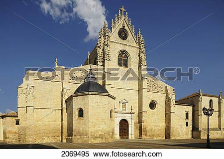 Stock Image of Catedral De San Antolin; Palencia Castile.