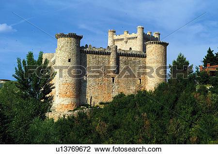 Stock Photo of Spain, Spanish, Monument, Spanish monument.