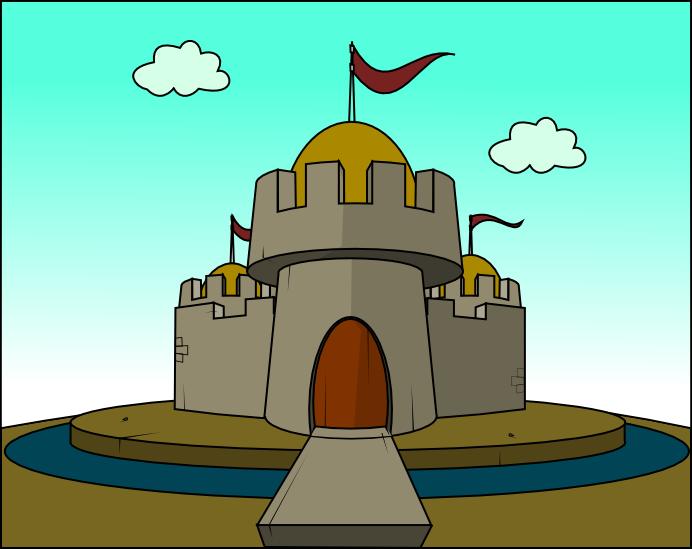 Castillo y dragon..