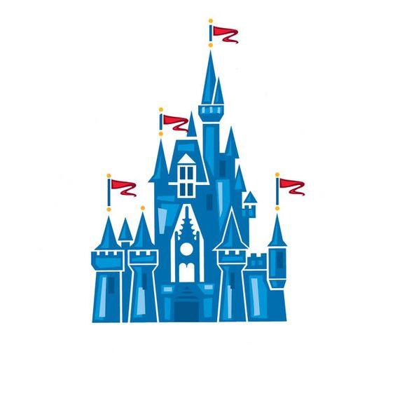 castillo de disney dibujo.