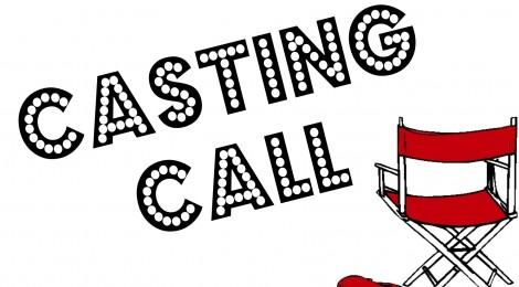 Casting Call Clip Art.