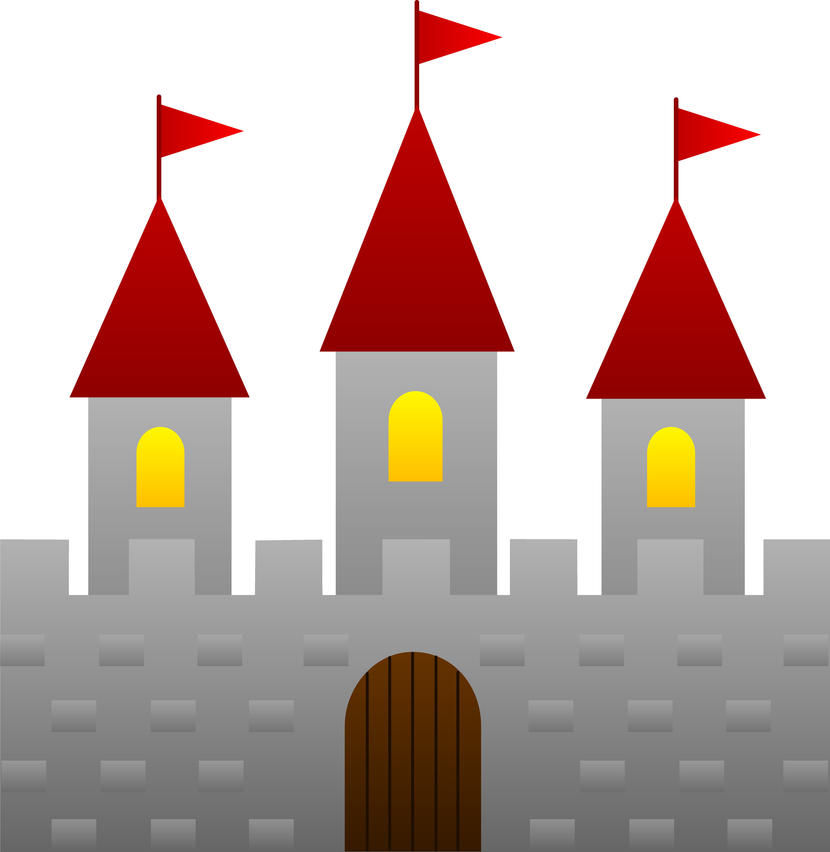 Clip art castles.
