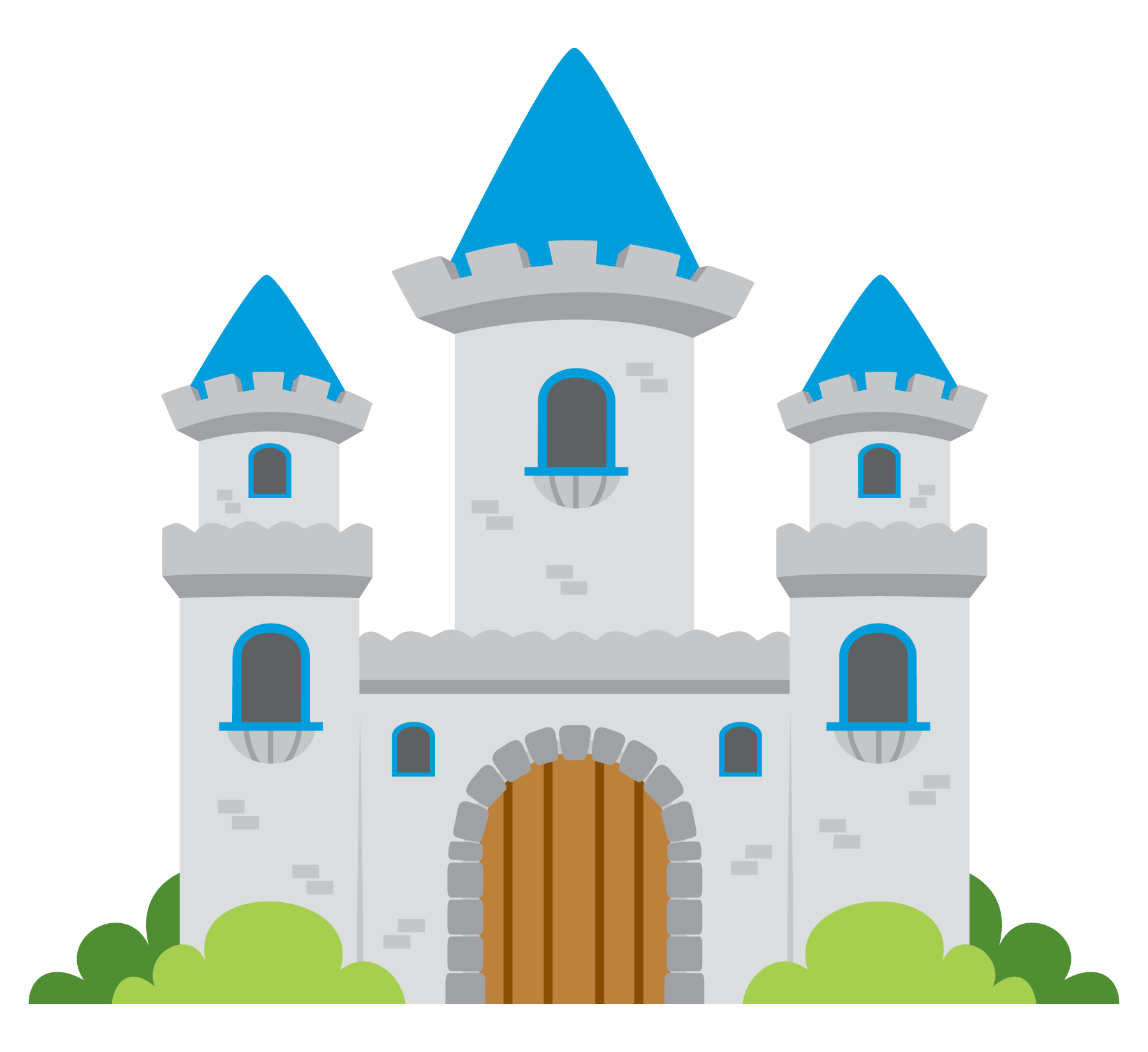 clipart of castles #17
