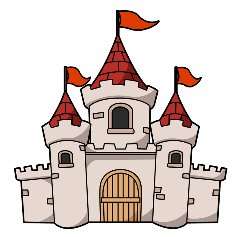 clipart of castles #20