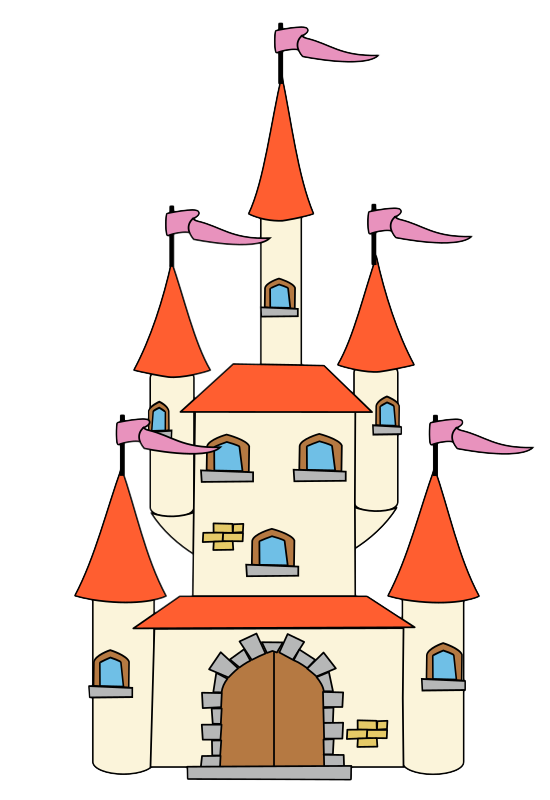 clipart of castle #3