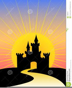 Castle Background Clipart.