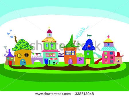 Painting Kids Room Original Oil On Stock Illustration 70796050.