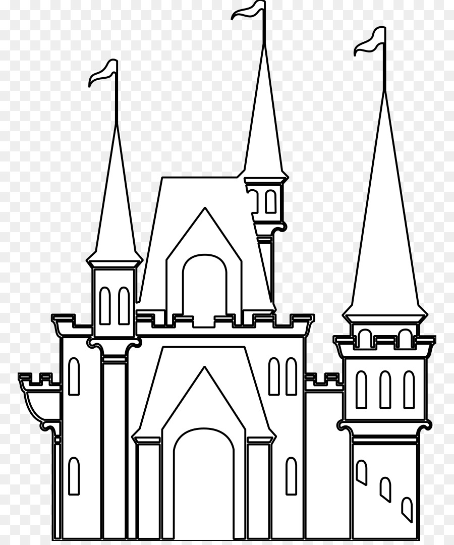 Castle Cartoon clipart.