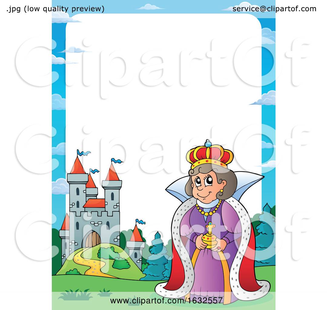 Queen and Castle Border by visekart #1632557.
