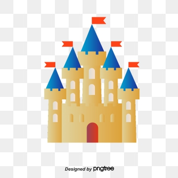 Cartoon Castle PNG Images.