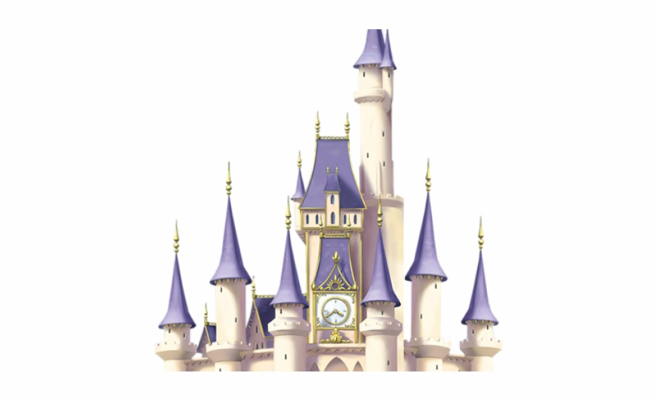 Cinderella Clipart Huge Castle.