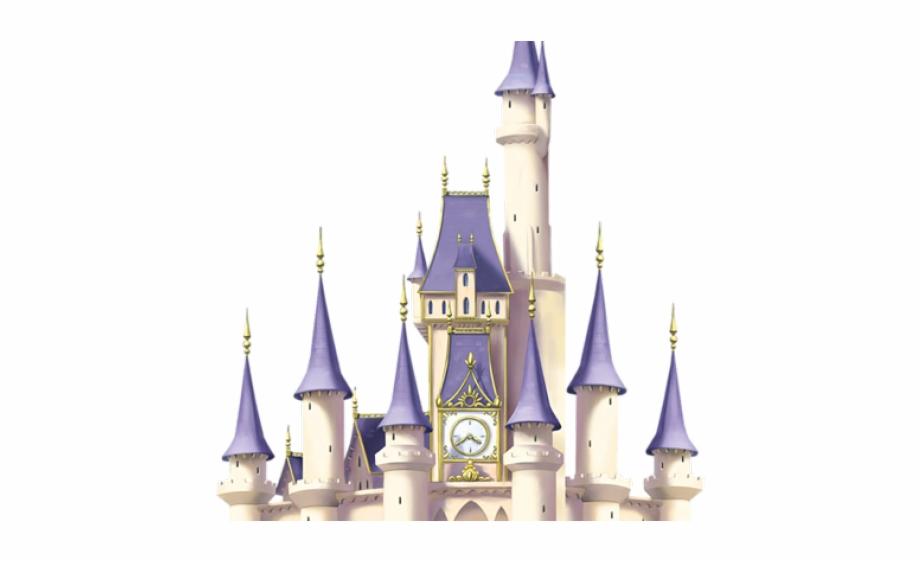 Cinderella Clipart Huge Castle.