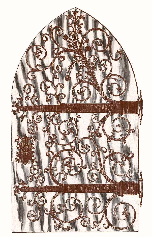 Cellar door clip art.