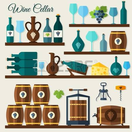 3,608 Cellar Stock Illustrations, Cliparts And Royalty Free Cellar.
