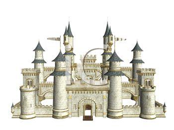 Fairytale 3D Castle.