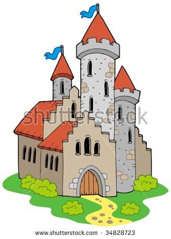 Castle Architecture Stock Photos, Royalty.