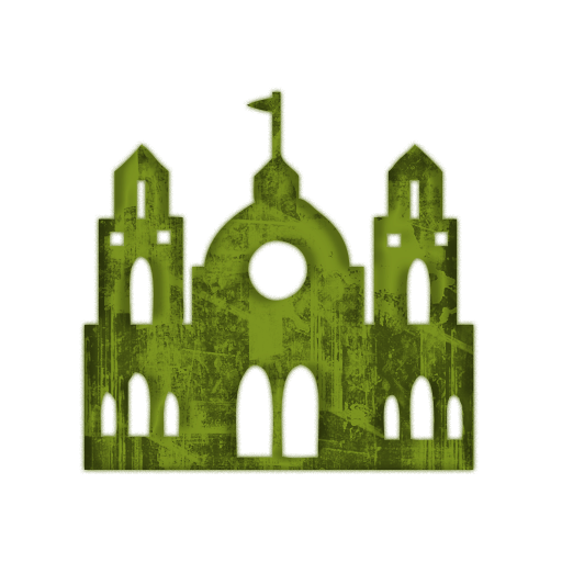 Castle Church Icon #028667 » Icons Etc.