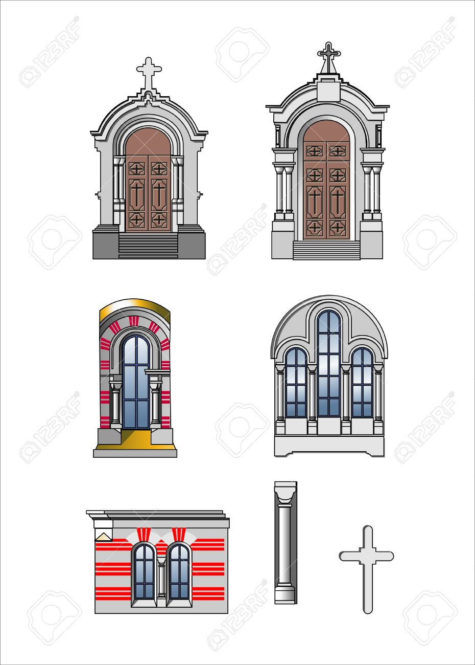 Architect Elements Of Castle Royalty Free Cliparts, Vectors, And.