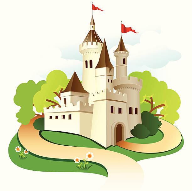 Best Castle Illustrations, Royalty.