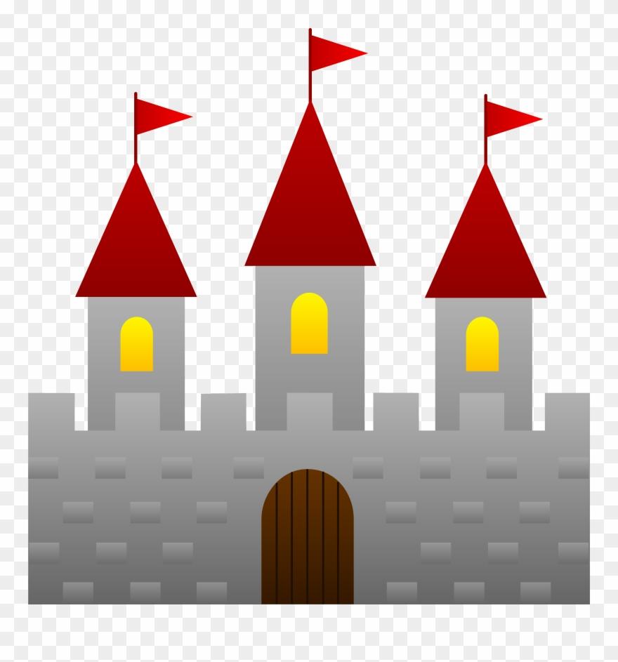 Fairy Tale Castle Clip Art.