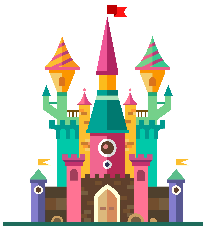 Top castle clip art free clipart image 4.
