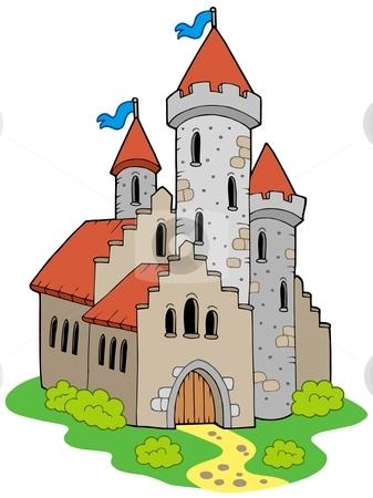 Medieval Castle Clipart.