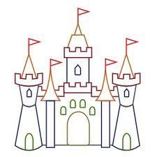 Simple Castle Clipart.