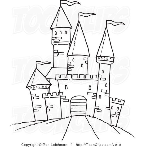 Draw castle.
