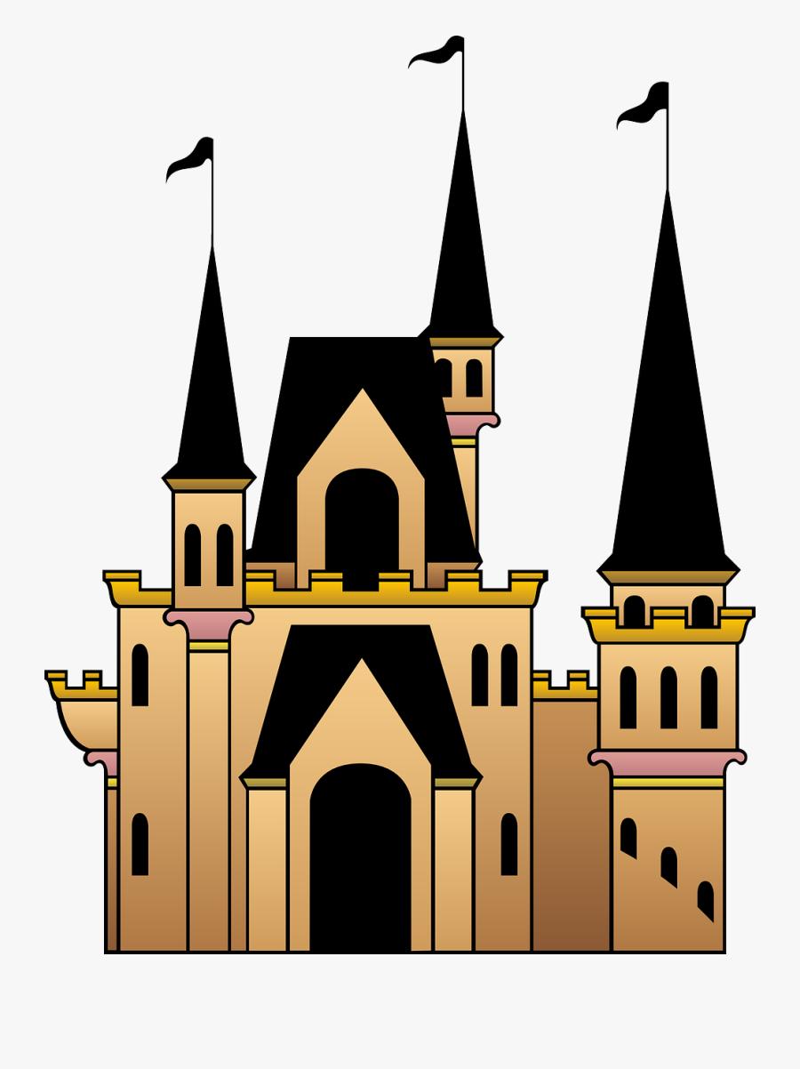 Castle Clipart Transparent Background.