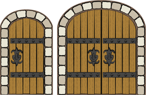 Castle Door Clipart Clipground